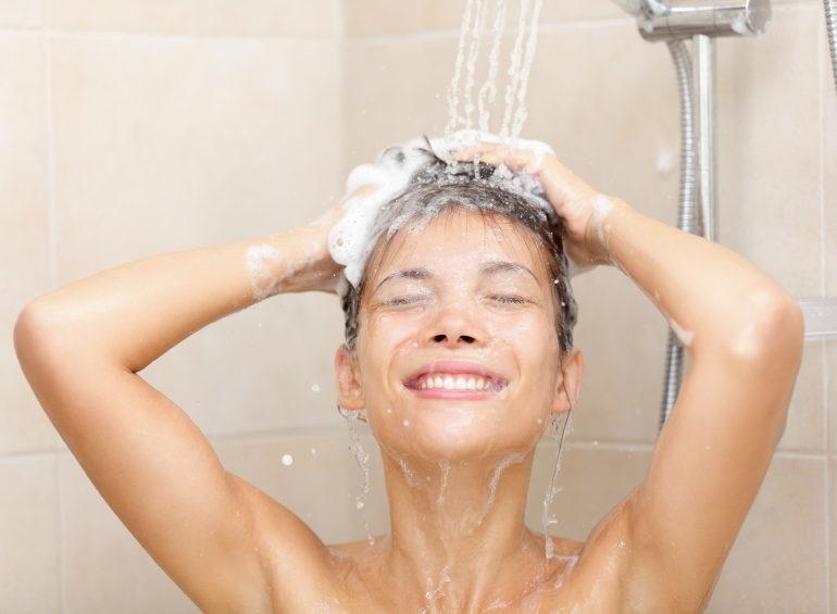 Regeneracja pod prysznicem