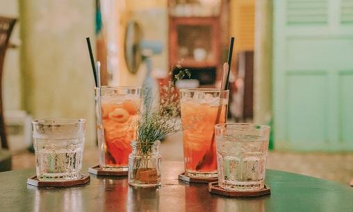 Ochładzające napoje na upał.