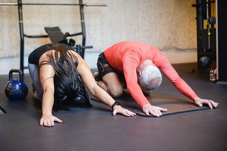 Stretching jest dla każdego.